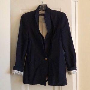 Navy blue Zara blazer!